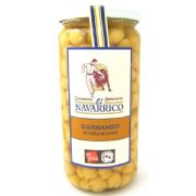 Navarrico Chickpeas (Garbanzos), Cooked - 660g